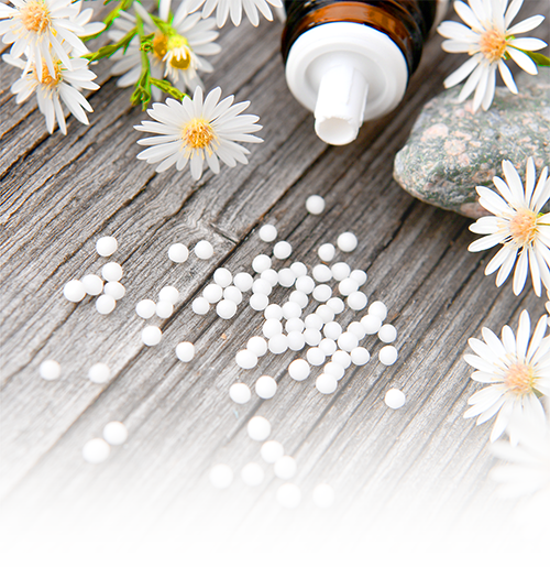 Homöopathie in Form von Kügelchen